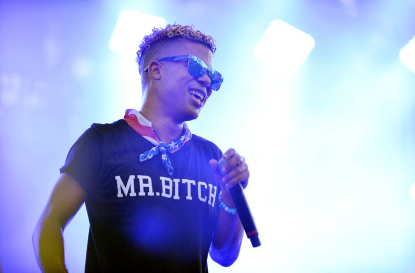 iLoveMakonnen performs at the LA Pride Music Festival and Parade 2017 on June 10, 2017 in West Hollywood, California. (Photo by Chelsea Guglielmino/Getty Images)