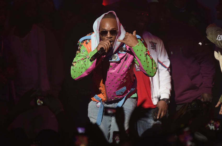 NEW YORK, NY - NOVEMBER 21: Cam'ron (Photo by Nicholas Hunt/Getty Images for Spotify )