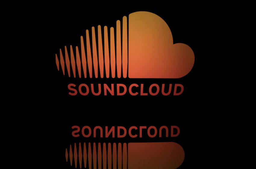 This illustration picture taken on April 19, 2018 shows the logo of the online music streaming company Soundcloud (Photo by Lionel BONAVENTURE / AFP) (Photo credit should read LIONEL BONAVENTURE/AFP via Getty Images) [Underground]