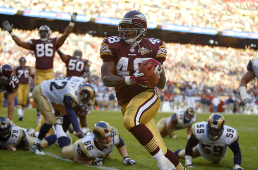 Stephen Davis, Washington Redskins. (Photo by Al Bello/Getty Images)