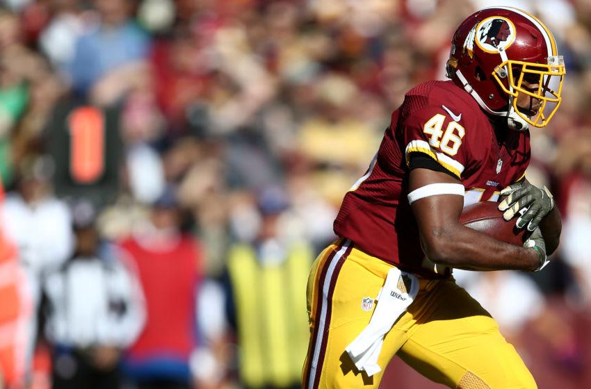 Alfred Morris, Washington Redskins. (Photo by Matt Hazlett/Getty Images)