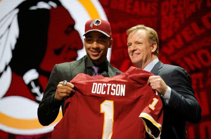Washington Football Team WR Josh Doctson. (Photo by Jon Durr/Getty Images)