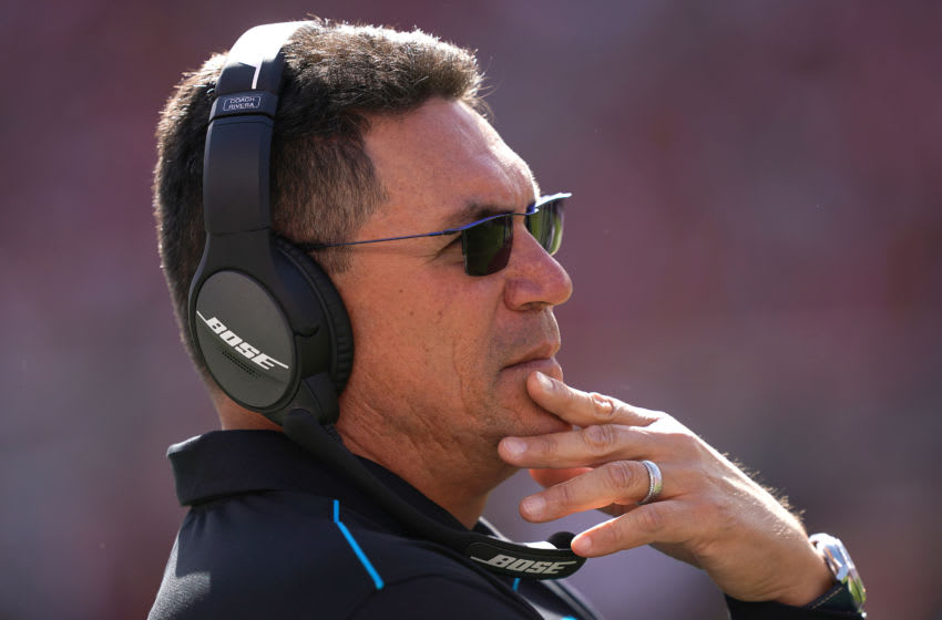 Ron Rivera, Carolina Panthers. (Photo by Thearon W. Henderson/Getty Images)