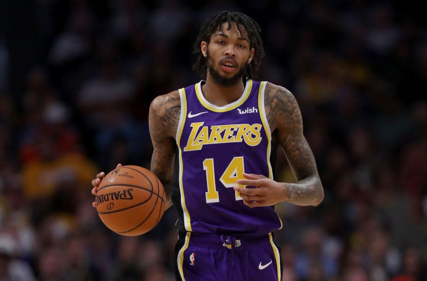 Los Angeles Lakers Brandon Ingram (Photo by Matthew Stockman/Getty Images) NOTE TO USER: User expressly acknowledges and agrees that, by downloading and or using this photograph, User is consenting to the terms and conditions of the Getty Images License Agreement. (Photo by Matthew Stockman/Getty Images)