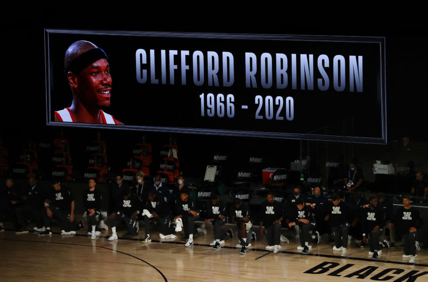 Cliff Robinson, Portland Trail Blazers (Photo by Kevin C. Cox/Getty Images)
