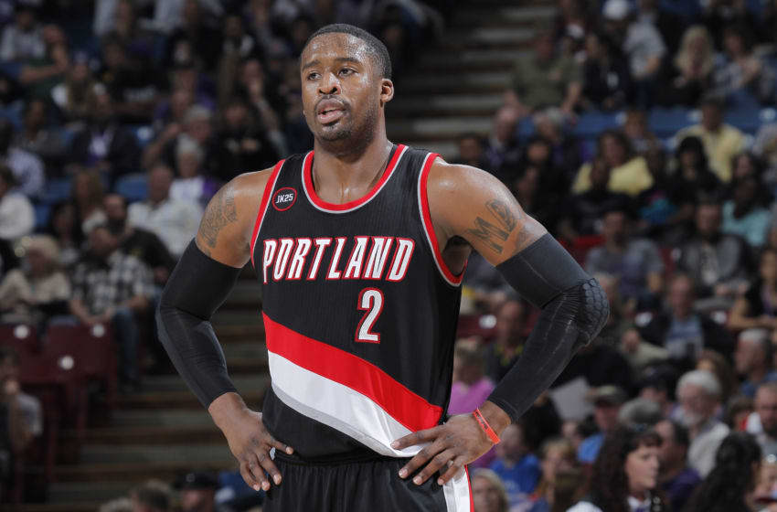 Wesley Matthews #2 of the Portland Trail Blazers (Photo by Rocky Widner/NBAE via Getty Images)
