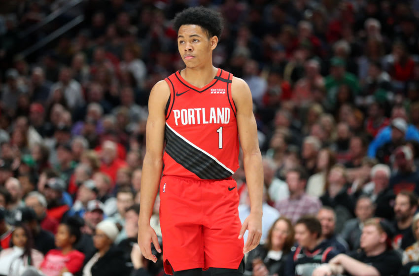Anfernee Simons, Portland Trail Blazers (Photo by Abbie Parr/Getty Images)