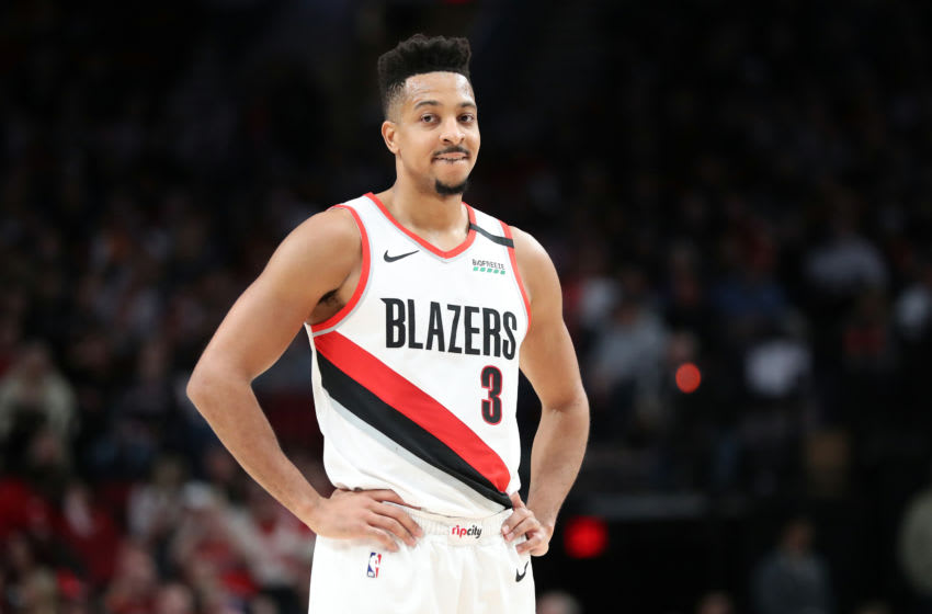 CJ McCollum, Portland Trail Blazers. (Photo by Abbie Parr/Getty Images)