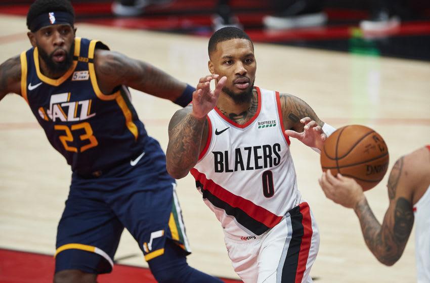 Damian Lillard, Portland Trail Blazers (Mandatory Credit: Troy Wayrynen-USA TODAY Sports)