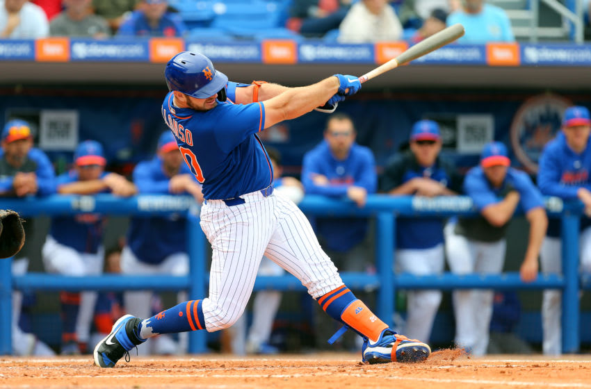 Pete Alonso #20 of the New York Mets - (Photo by Rich Schultz/Getty Images)