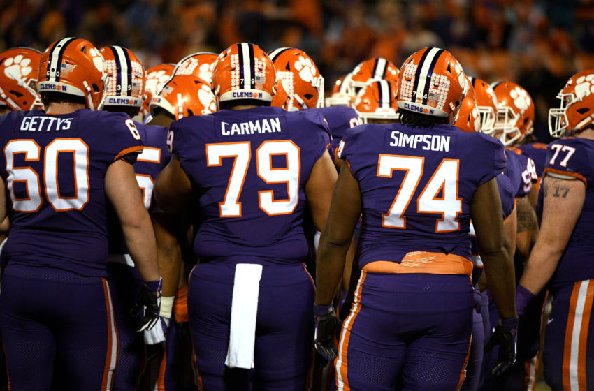Clemson Tigers (Photo by Lance King/Getty Images)