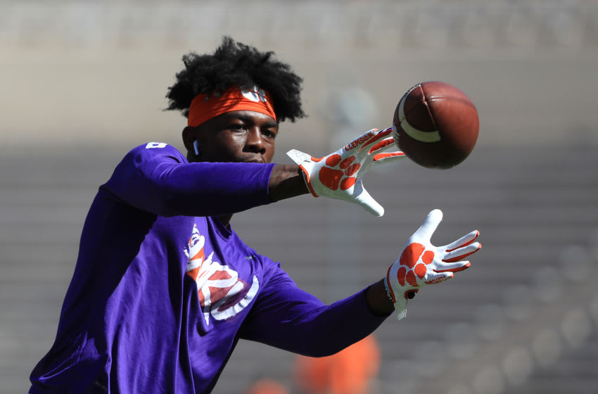 Justyn Ross Clemson Tigers (Photo by Streeter Lecka/Getty Images)
