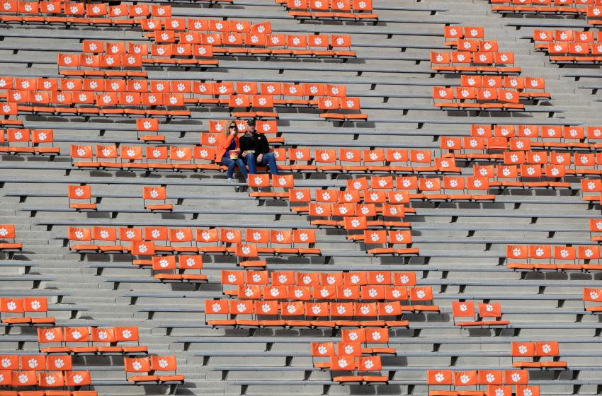 Clemson football fans