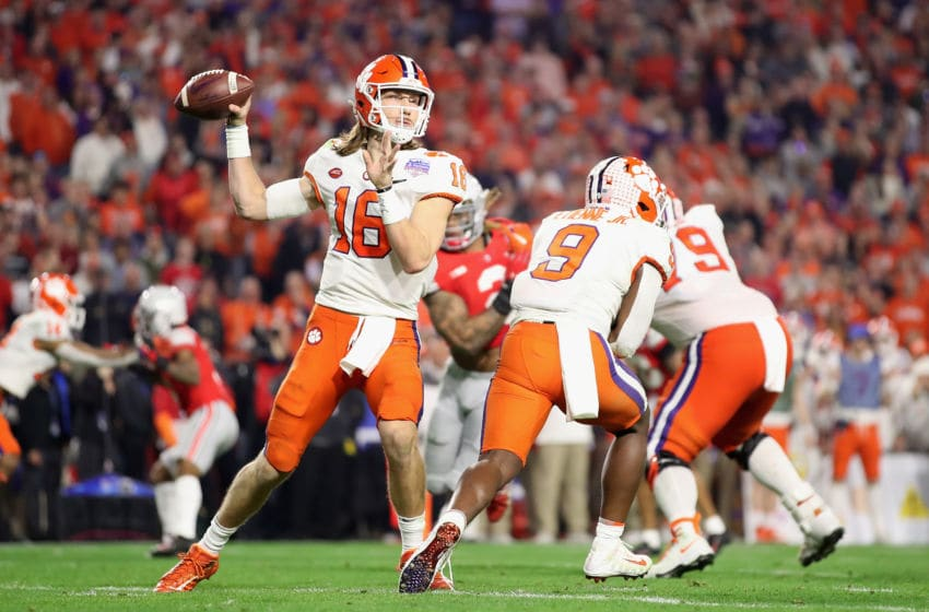 Trevor Lawrence Clemson Tigers (Photo by Christian Petersen/Getty Images)