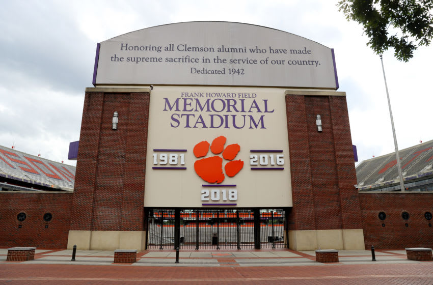 A view of Clemson Memorial Stadium on the campus of Clemson University (Photo by Maddie Meyer/Getty Images)