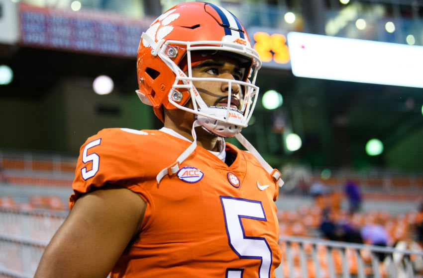 DJ Uiagalelei, Clemson football Mandatory Credit: Ken Ruinard-USA TODAY Sports