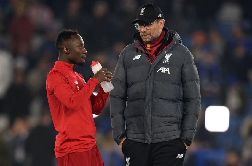 Liverpool, Jurgen Klopp, Naby Keita (Photo by OLI SCARFF/AFP via Getty Images)