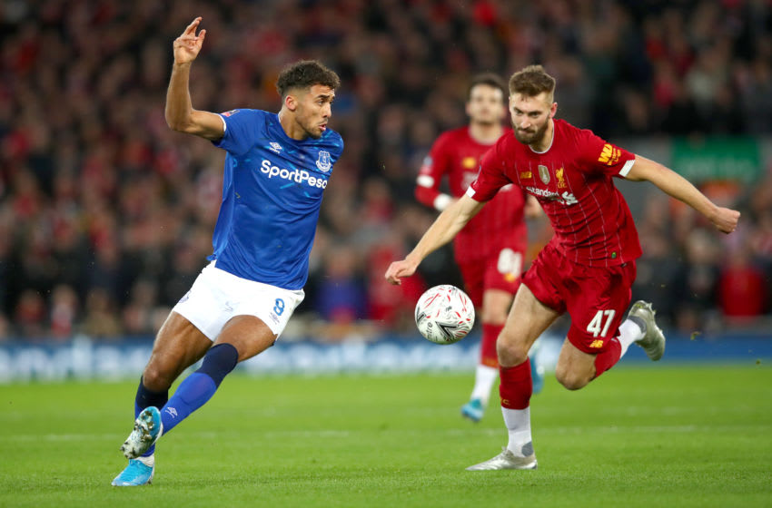 Dominic Calvert-Lewin, Liverpool. (Photo by Clive Brunskill/Getty Images)