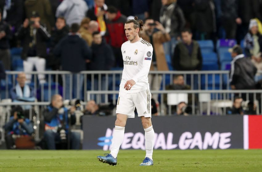Gareth Bale of Real Madrid during the UEFA Champions League round of 16 first leg match between Real Madrid and Manchester City FC at the Santiago Bernabeu stadium on February 26, 2020 in Madrid, Spain(Photo by ANP Sport via Getty Images)