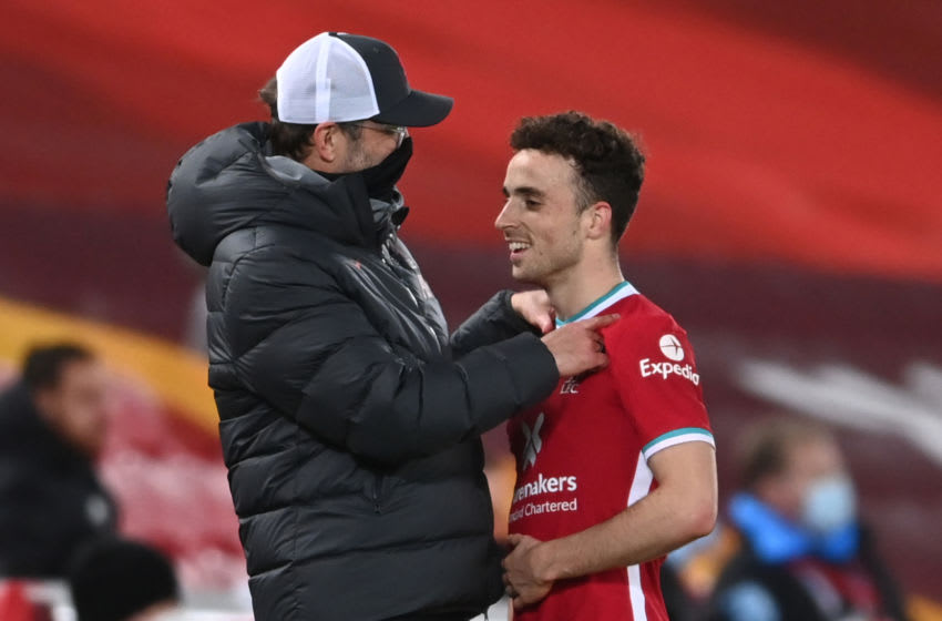 Liverpool, Diogo Jota (Photo by LAURENCE GRIFFITHS/POOL/AFP via Getty Images)