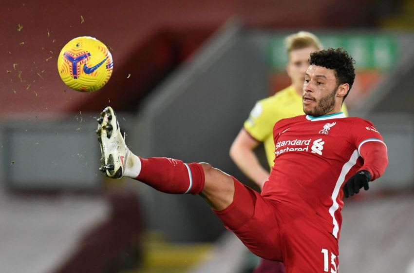 Liverpool, Alex Oxlade-Chamberlain (Photo by PETER POWELL/POOL/AFP via Getty Images)