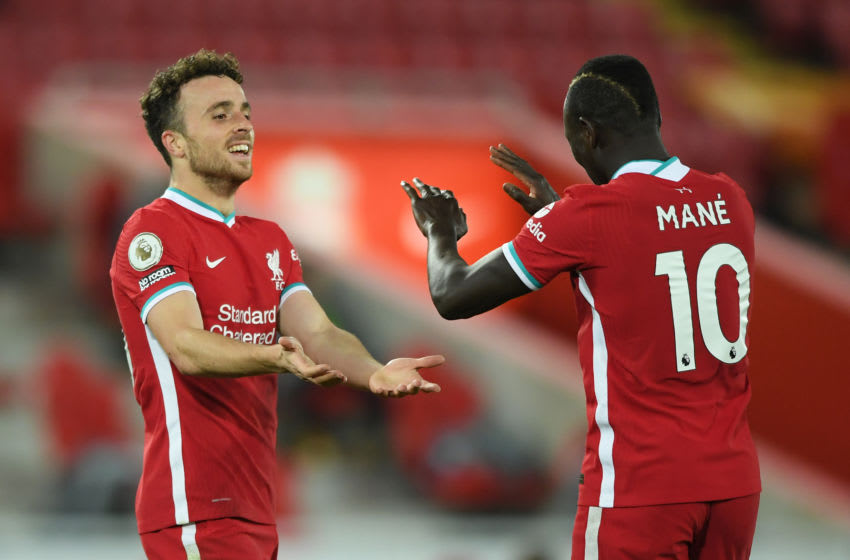Liverpool, Diogo Jota, Sadio Mane (Photo by Stu Forster/Getty Images)