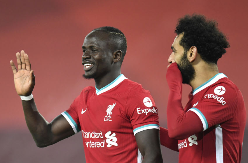 Liverpool, Sadio Mane, Mohamed Salah (Photo by Peter Powell - Pool/Getty Images)