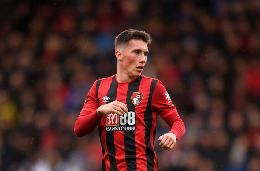 BOURNEMOUTH, ENGLAND - NOVEMBER 02: Harry Wilson of AFC Bournemouth during the Premier League match between AFC Bournemouth and Manchester United at Vitality Stadium on November 02, 2019 in Bournemouth, United Kingdom. (Photo by Harry Trump/Getty Images)