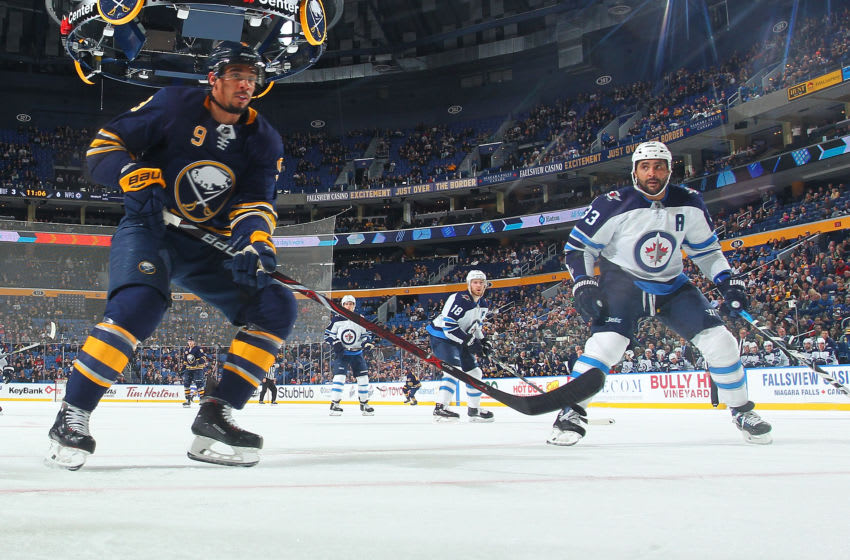 BUFFALO, NY - JANUARY 9: Evander Kane