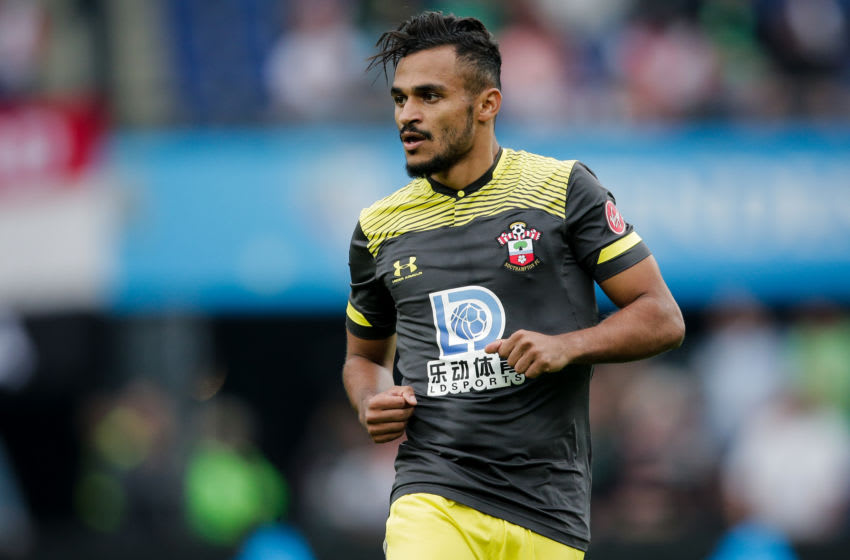 ROTTERDAM, NETHERLANDS - JULY 28: Sofiane Boufal of Southampton during the Club Friendly match between Feyenoord v Southampton at the Stadium Feijenoord on July 28, 2019 in Rotterdam Netherlands (Photo by Erwin Spek/Soccrates/Getty Images)