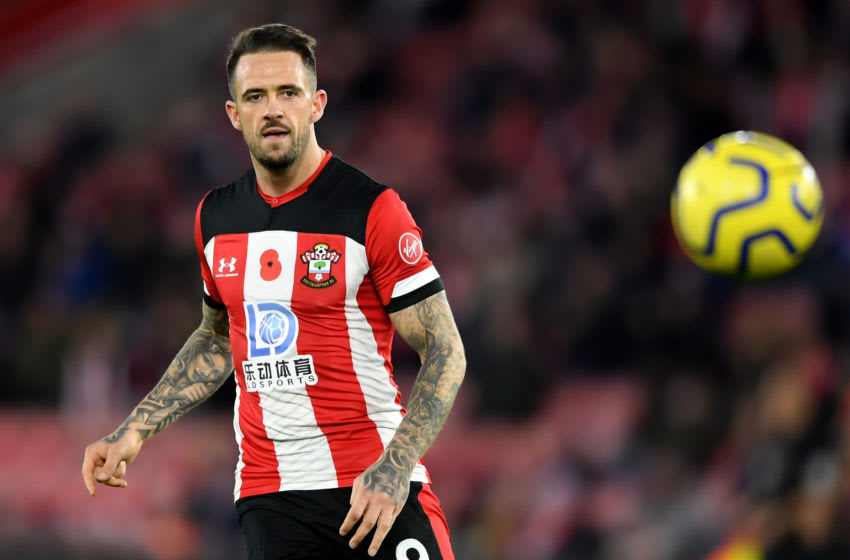 SOUTHAMPTON, ENGLAND - NOVEMBER 09: Danny Ings of Southampton FC in action during the Premier League match between Southampton FC and Everton FC at St Mary's Stadium on November 09, 2019 in Southampton, United Kingdom. (Photo by Alex Davidson/Getty Images)