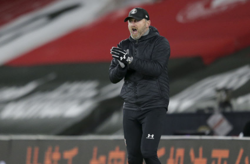 SOUTHAMPTON, ENGLAND - JANUARY 04: Ralph Hasenhuttl of Southampton during the Premier League match between Southampton and Liverpool at St Mary's Stadium on January 04, 2021 in Southampton, England. (Photo by Robin Jones/Getty Images)