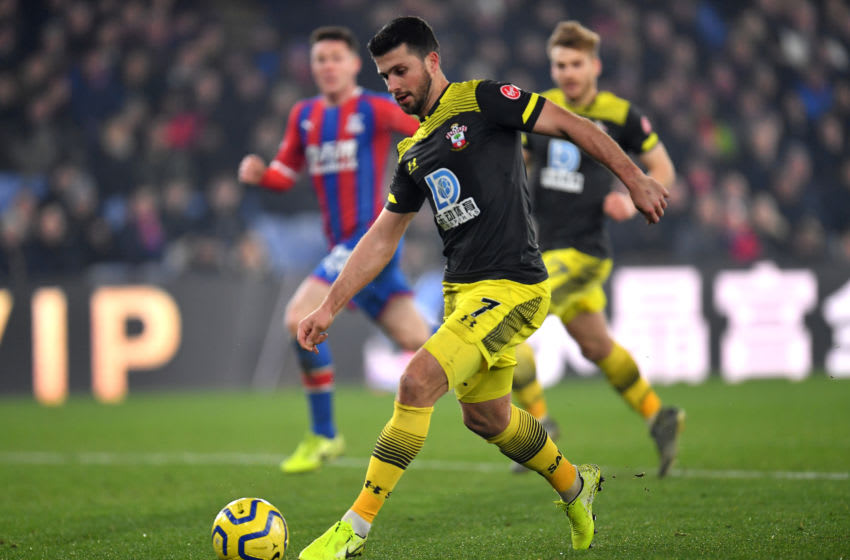 LONDON, ENGLAND - JANUARY 21: Shane Long of Southampton during the Premier League match between Crystal Palace and Southampton FC at Selhurst Park on January 21, 2020 in London, United Kingdom. (Photo by Justin Setterfield/Getty Images)