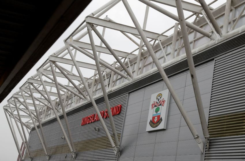 St Mary's Stadium, home to English Premier League Club Southampton FC, is pictured in Southampton, southern England on April 17, 2020. (Photo by Adrian DENNIS / AFP) (Photo by ADRIAN DENNIS/AFP via Getty Images)