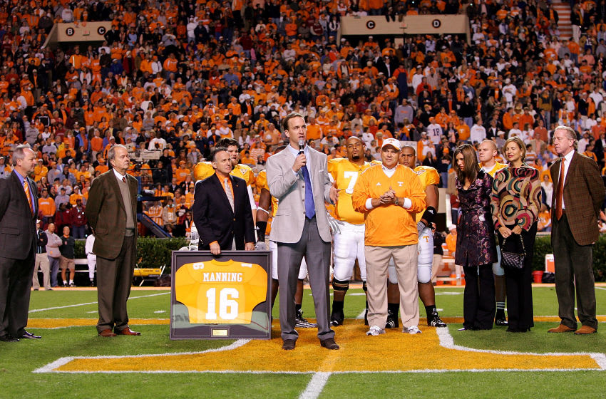Peyton Manning, Tennessee Volunteers. (Photo By Streeter Lecka/Getty Images)