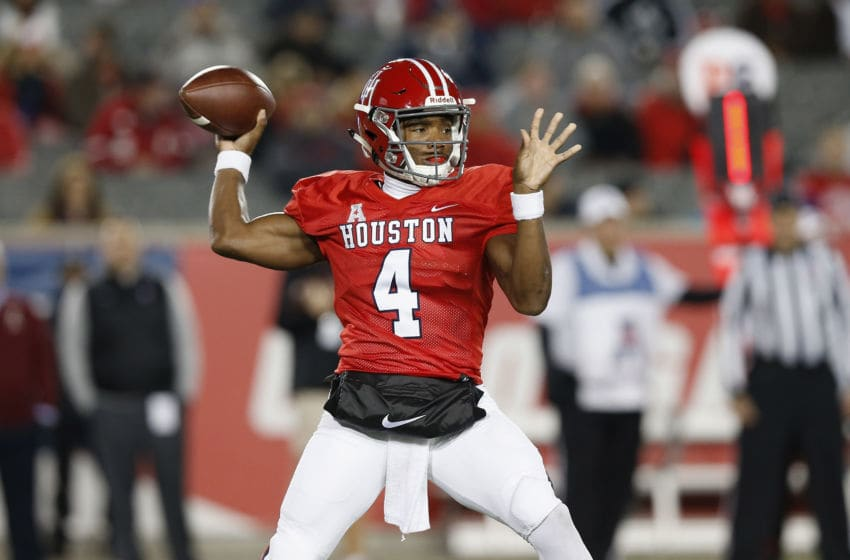 D'Eriq King, Houston football (Photo by Tim Warner/Getty Images)