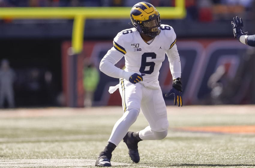 Josh Uche, Michigan football (Photo by Michael Hickey/Getty Images)