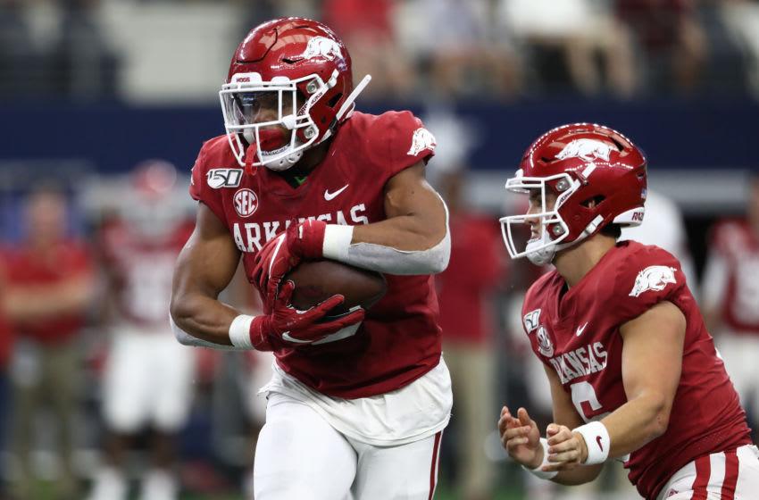 Rakeem Boyd, Arkansas football (Photo by Ronald Martinez/Getty Images)