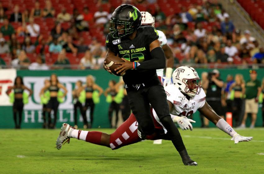 Jordan McCloud, South Florida football (Photo by Mike Ehrmann/Getty Images)