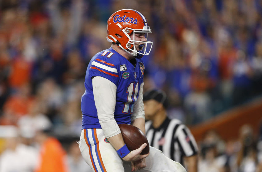 Kyle Trask, Florida football (Photo by Michael Reaves/Getty Images)