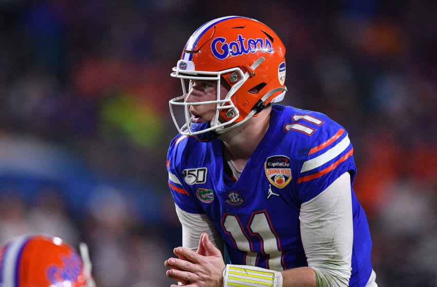 Kyle Trask, Florida football (Photo by Mark Brown/Getty Images)