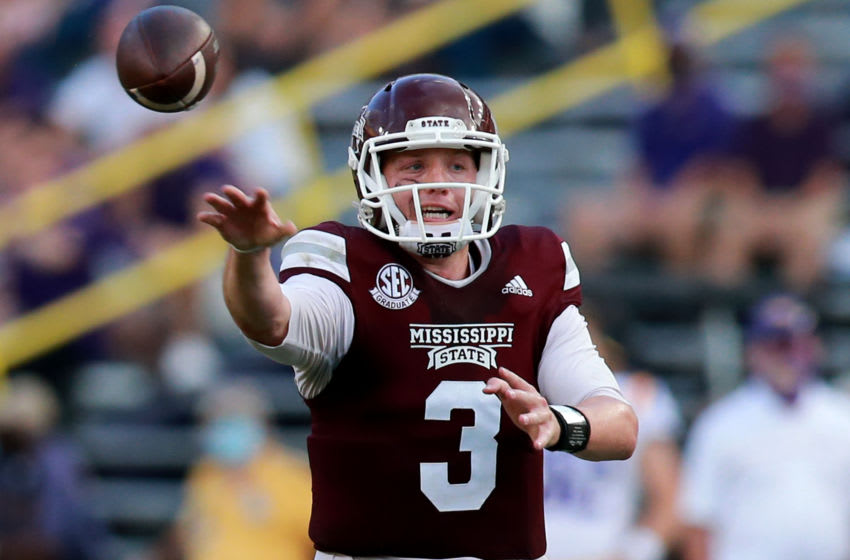K.J. Costello, Mississippi State football (Photo by Sean Gardner/Getty Images)