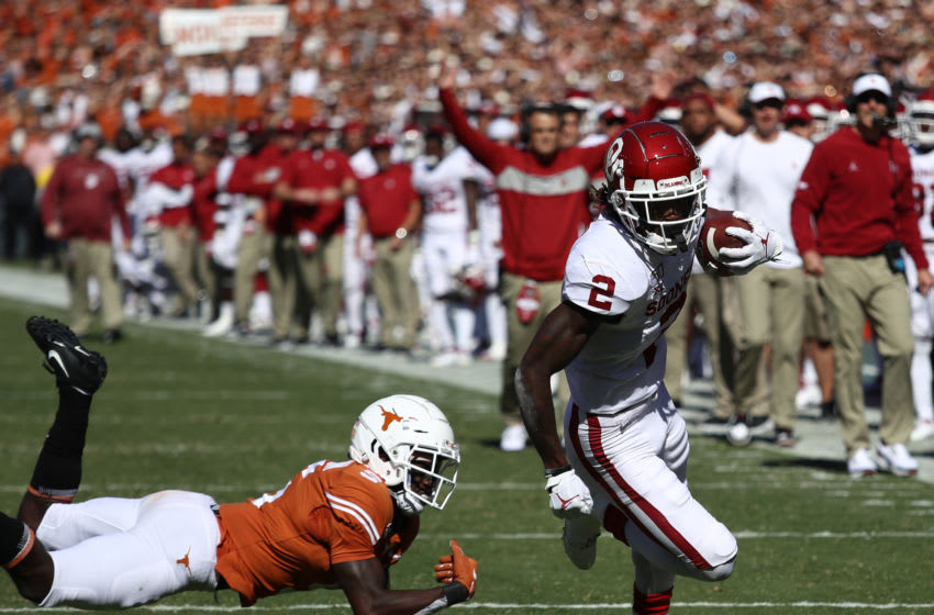 Ceedee Lamb, Oklahoma football (Photo by Ronald Martinez/Getty Images)