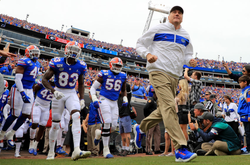 Dan Mullen, Florida football (Photo by Mike Ehrmann/Getty Images)
