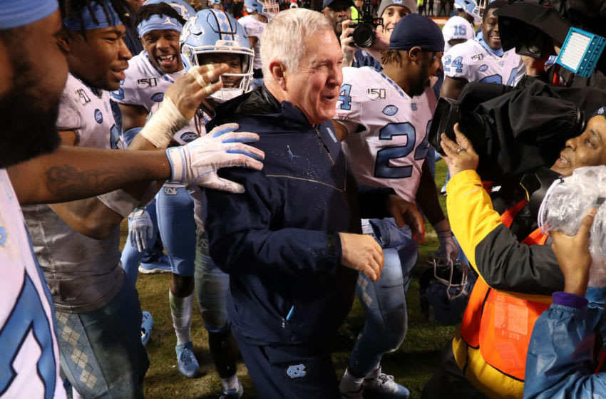 Mack Brown, North Carolina football (Photo by Andy Mead/ISI Photos/Getty Images)