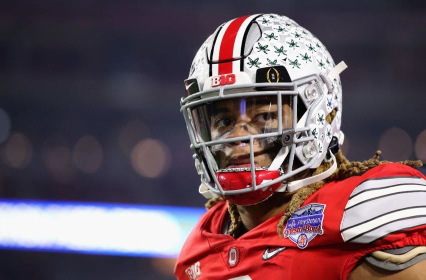 GLENDALE, ARIZONA - DECEMBER 28: Defensive end Chase Young #2 of the Ohio State Buckeyes during the PlayStation Fiesta Bowl against the Clemson Tigers at State Farm Stadium on December 28, 2019 in Glendale, Arizona. The Tigers defeated the Buckeyes 29-23. (Photo by Christian Petersen/Getty Images)