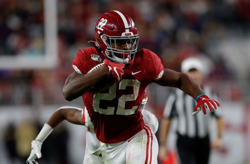 Najee Harris, Alabama football (Photo by Kevin C. Cox/Getty Images)