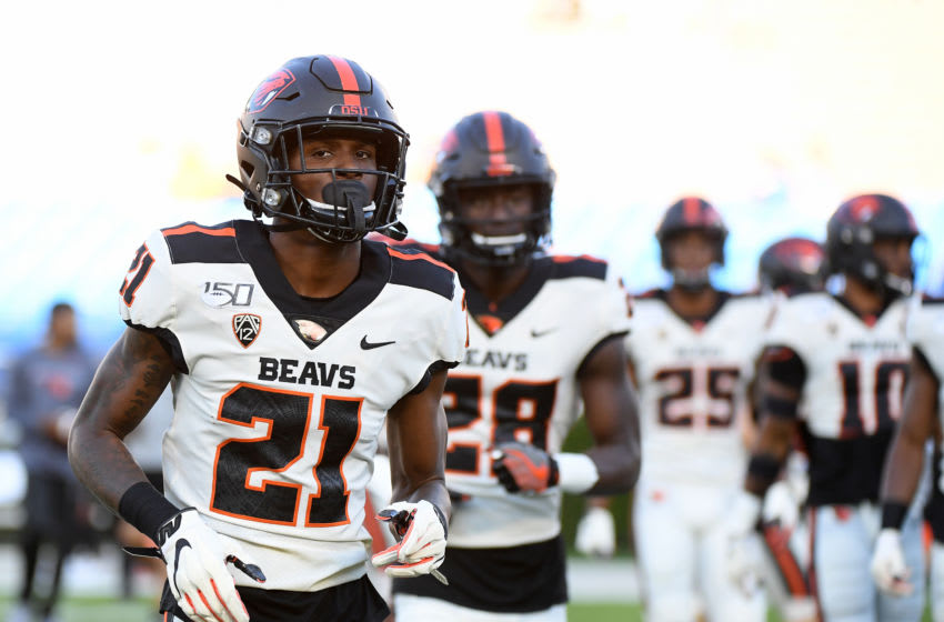 Nahshon Wright, Oregon State football (Photo by Harry How/Getty Images)