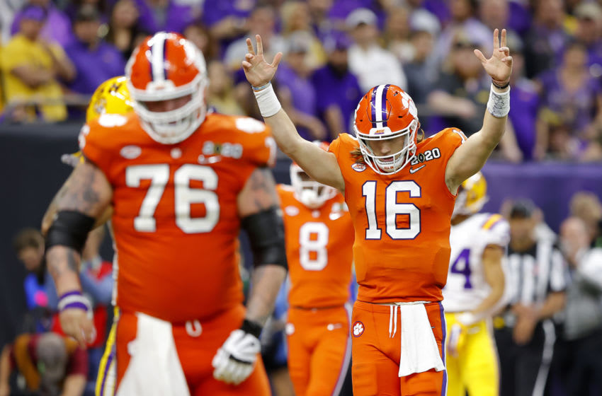 Trevor Lawrence, Clemson football (Photo by Kevin C. Cox/Getty Images)