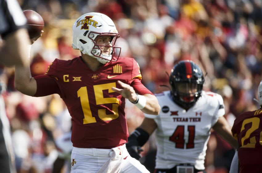 Brock Purdy, Iowa State football Mandatory Credit: Brian Powers-USA TODAY Sports